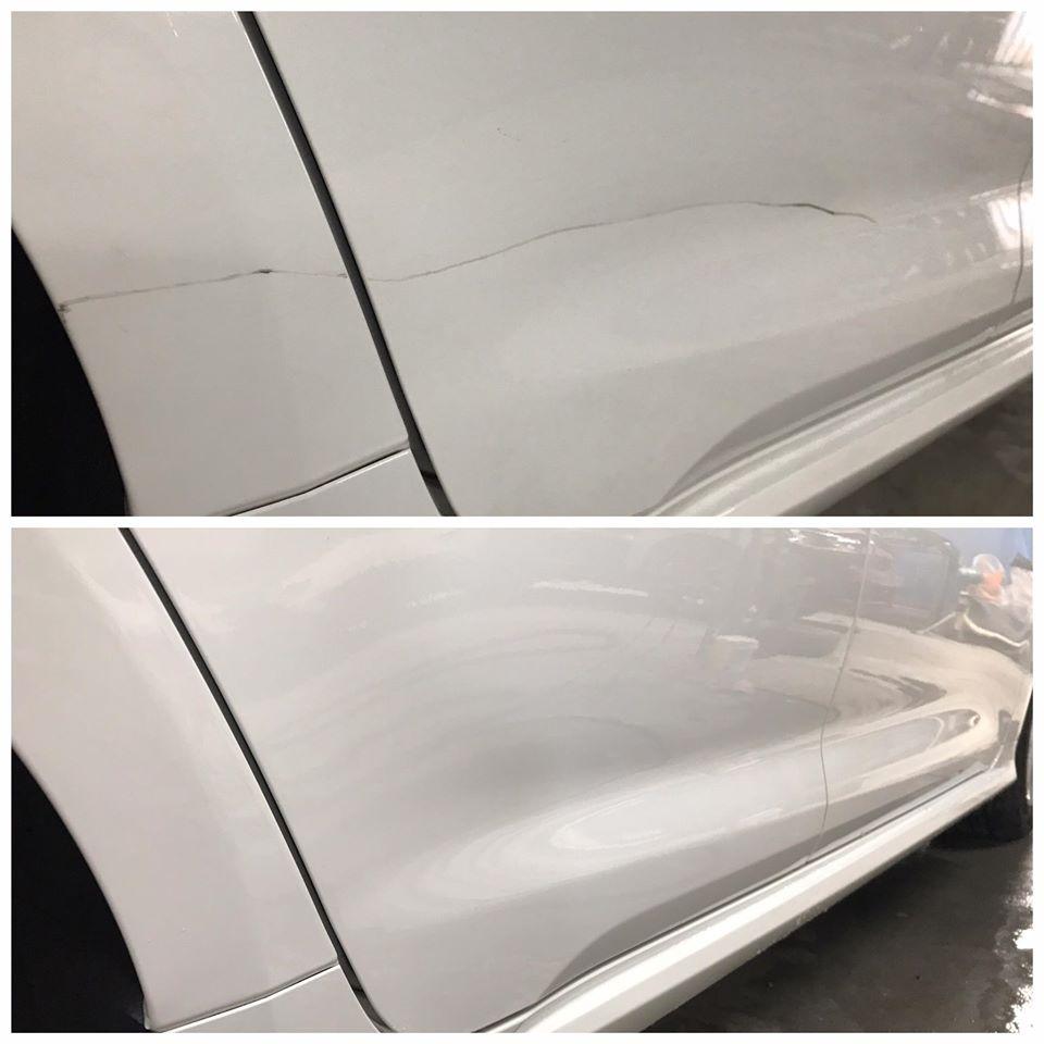 台中免烤漆凹痕修復